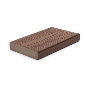 Trex Transcend Lava Rock Composite Deck Board Actual 1 3 In X