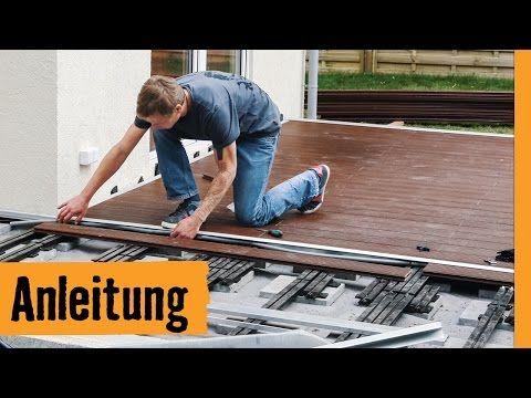 wpc terrasse bauen hornbach meisterschmiede youtube bauen. Black Bedroom Furniture Sets. Home Design Ideas