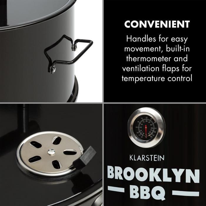 Brooklyn BBQ Barbecue Barrel