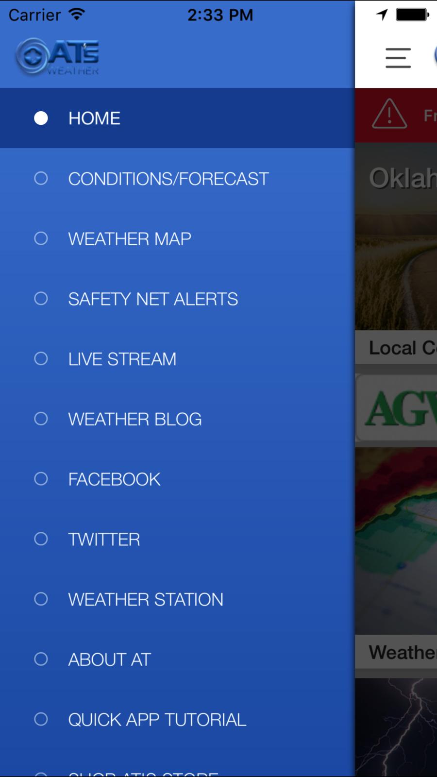 Atsweathertogo Ios News App Apps Weather Blog Quick Apps App