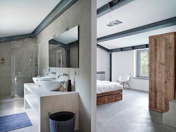 Open badkamer | Badkamer | Pinterest