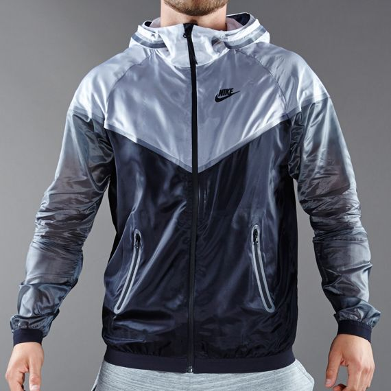 0efee5328d Nike Sportswear Hyperfuse Tech Windrunner - Mens Select Clothing - White- Black-Dark Grey-Black