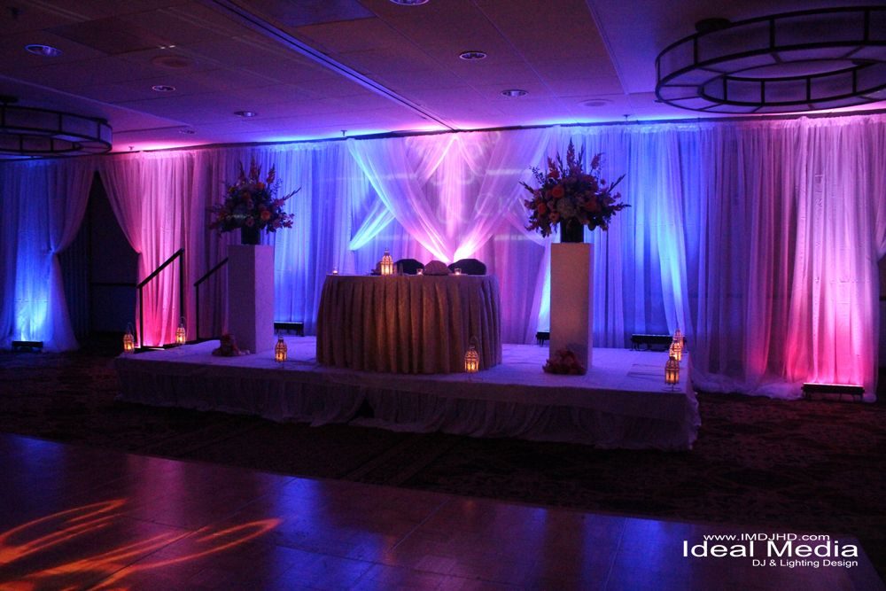 Uplighting One Wall Google Search Pink Curtains