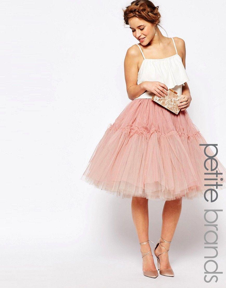 Imagen 1 de Falda de tul de True Decadence Petite | moda | Pinterest ...