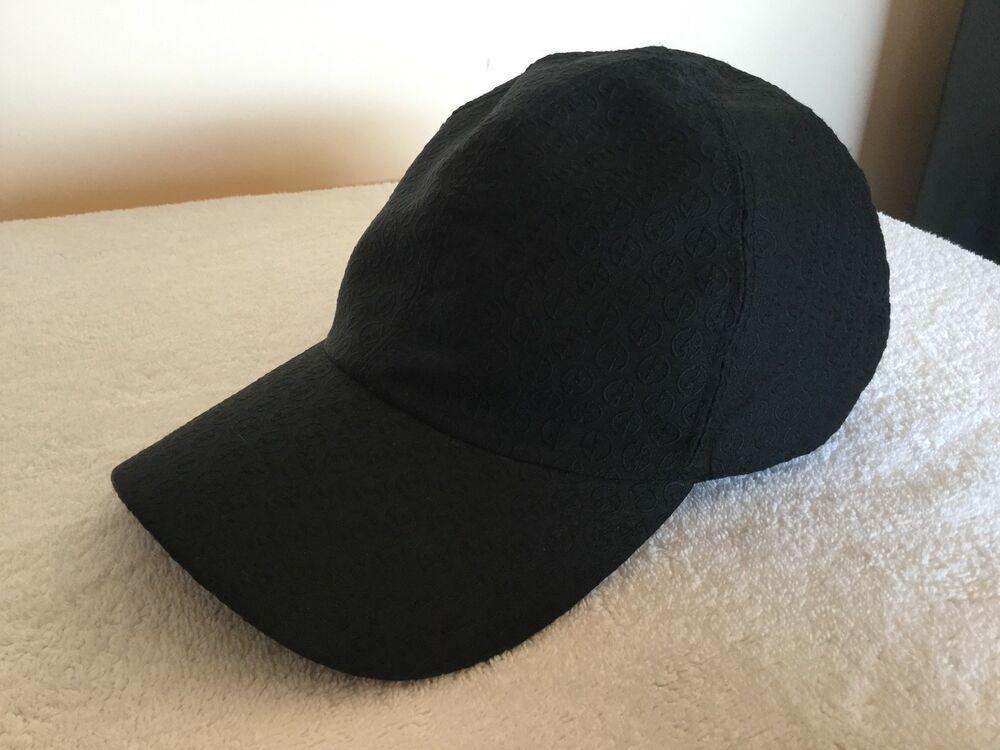 Finden Sie den niedrigsten Preis neueste auswahl modernes Design 100 % original black GIORGIO ARMANI baseball cap hat Size 60 ...