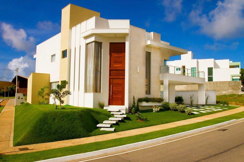 decor salteado blog de decorao e arquitetura fachadas de casas modernas com linhas