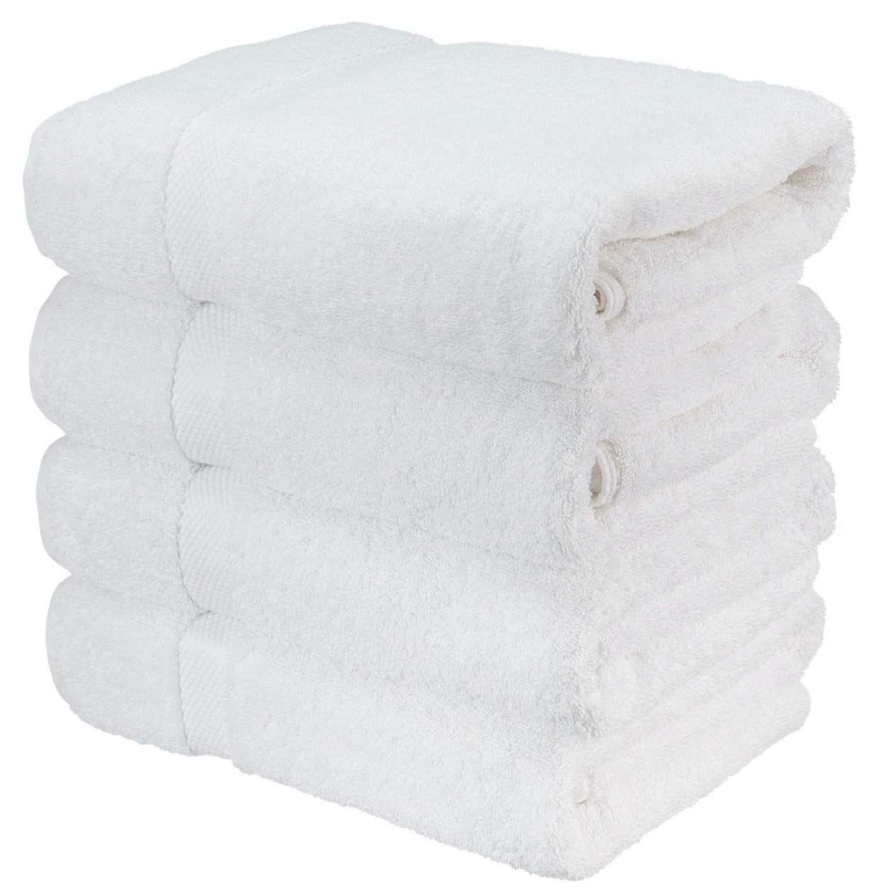 Amazon Com Luxury Bath Towels For Bathroom Hotel Spa Kitchen Set