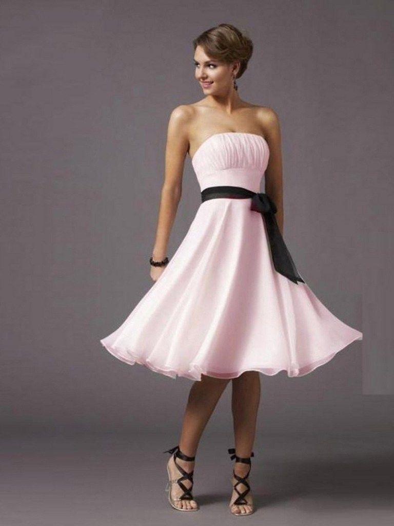 Abend Schön Kleider Für Hochzeitsgäste Rosa Stylish - Abendkleid