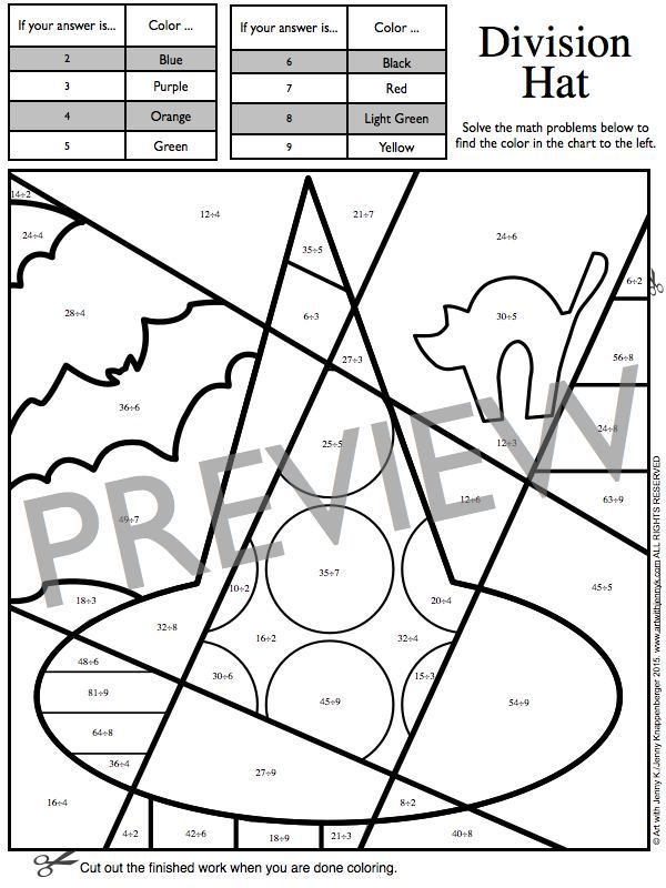 Halloween math coloring sheets to review addition up to 20