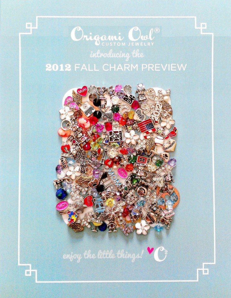 Origami Owl Fall 2012 collection.