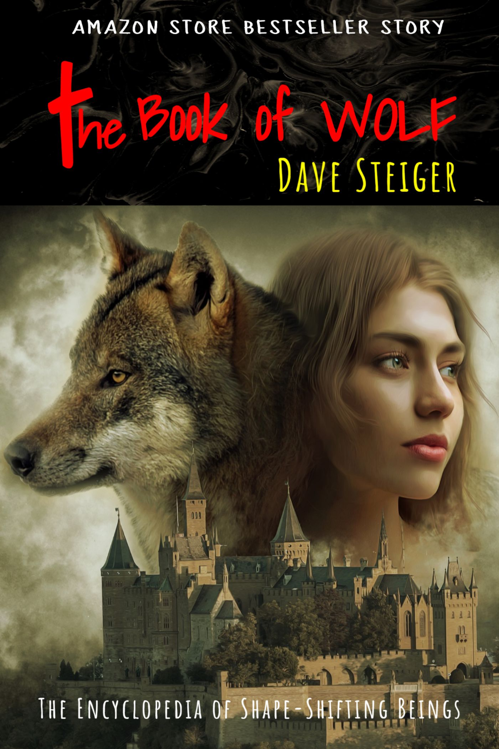 Use This Wolf And Moon Themed Cover Template For Creating Your Own Book Related With Mystical Beings The Cover Book Cover Maker Book Cover Template Moon Book
