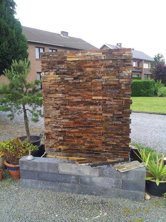 Water wall by garden concepts Water features Pinterest - cascada de pared