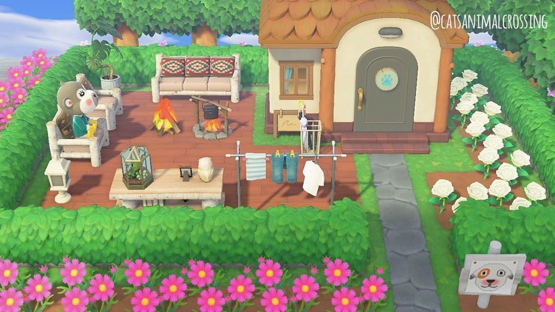 Animal Crossing New Horizons On Instagram Inspiration For A The Exterior Of A Villagers House In 2020 Animal Crossing Villagers Animal Crossing Animal Crossing Guide