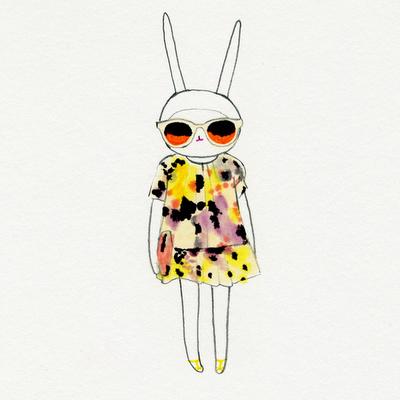 Meet Fifi Lapin The Illustrated Fashionista Fifi Lapin Illustration Art Colorful Artwork