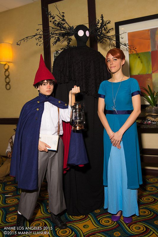 beatrice beast and wirt over the garden wall cosplay anime los angeles 2015 saturday - Over The Garden Wall Cosplay