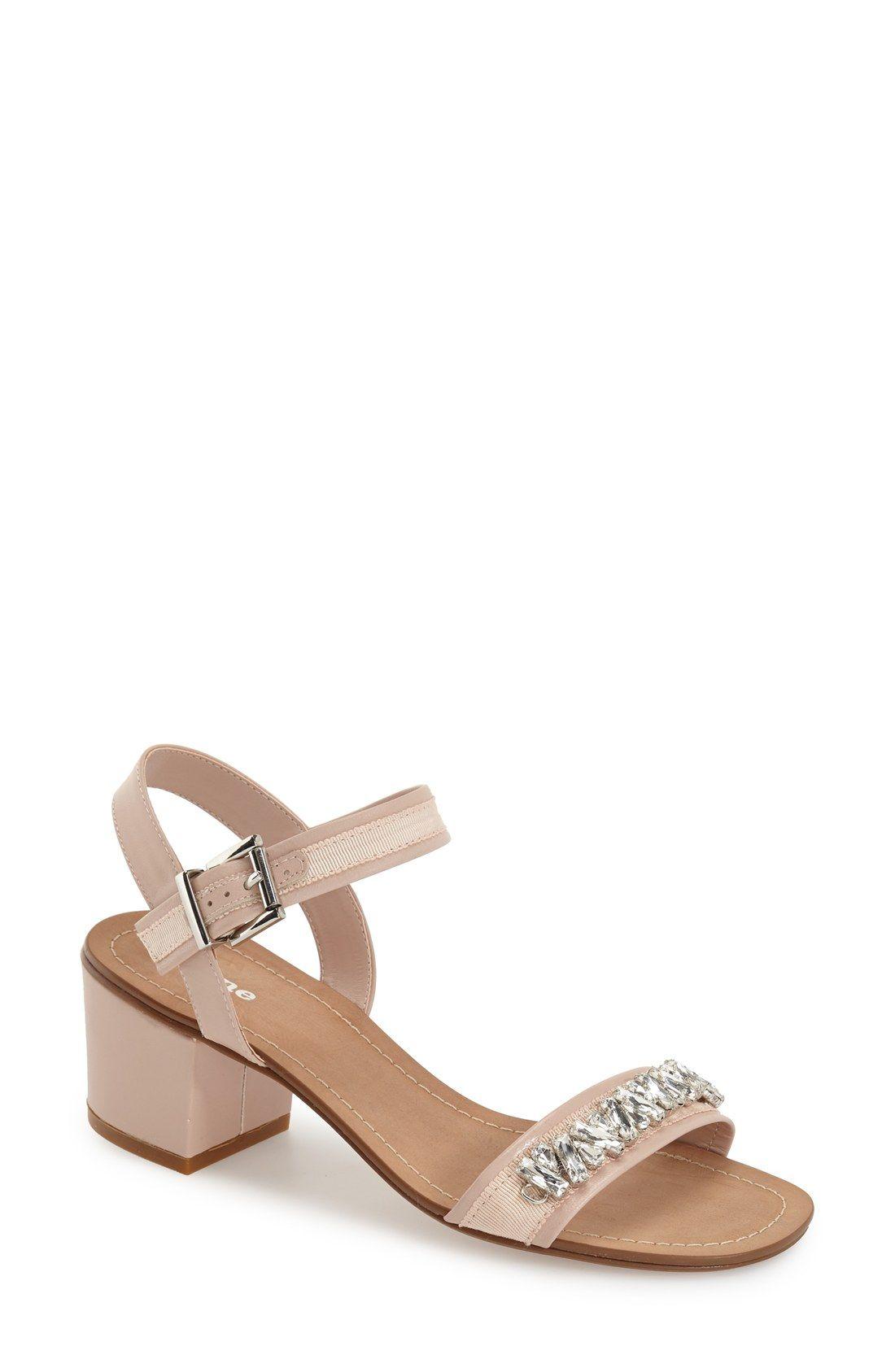 54e00256c5c Dune London 'Maisie' Embellished Block Heel Sandal (Women)   My ...