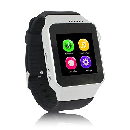 ENHANCE Limited edition premium X1 Black Smartwatch (Blac