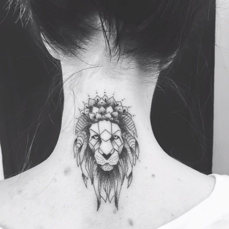 56 Lion Tattoos Ideas To Show Strength And Bravery Neck Tattoo Tattoos Tribal Lion Tattoo