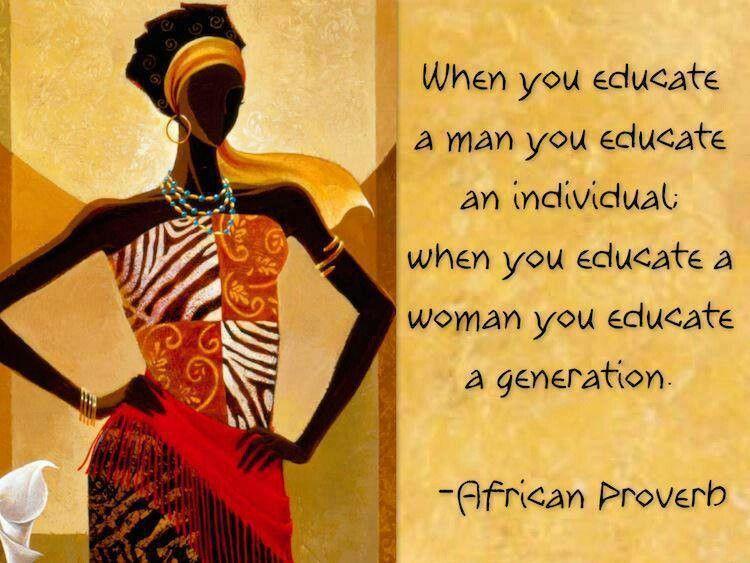 #AfricanProverbs