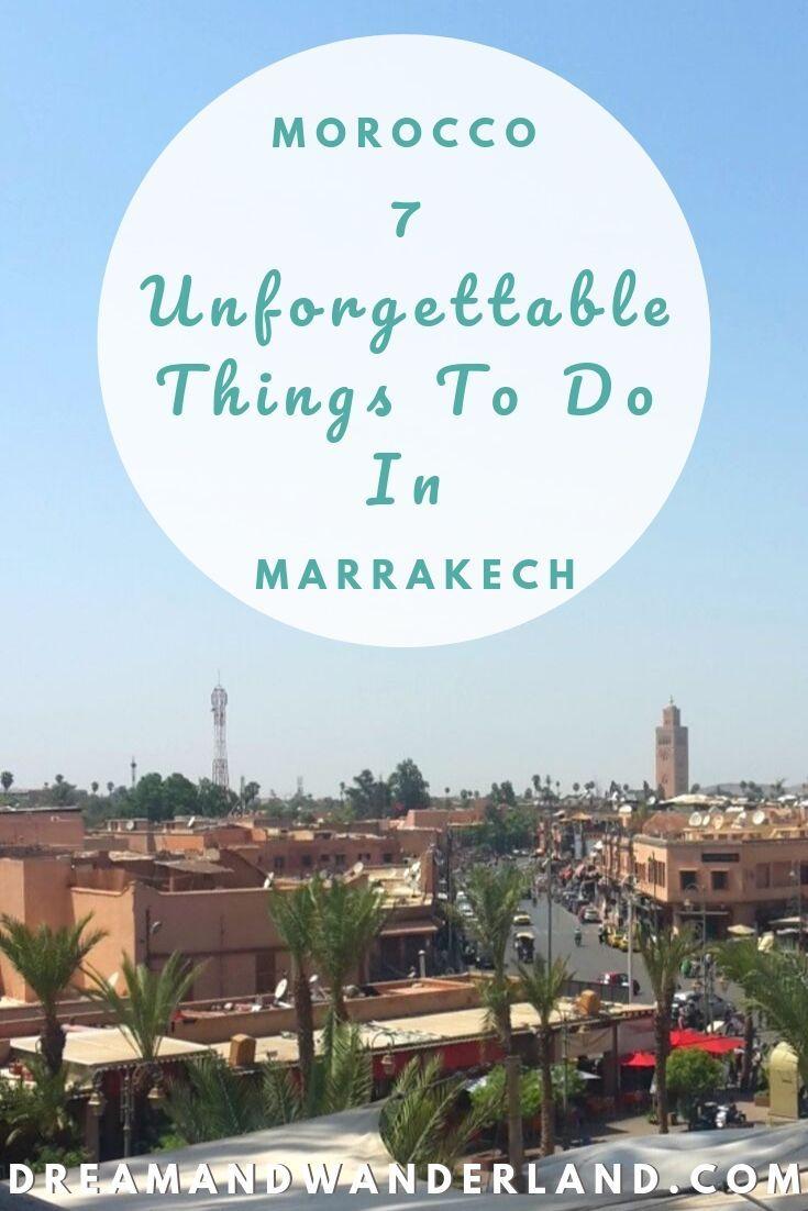 Marruecos – 7 experiencias inolvidables en Marrakech – Dream and Wanderland