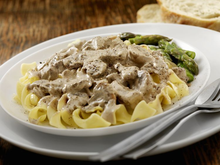 Make Beef Stroganoff In A Crockpot Recipe Slow Cooker Beef Stroganoff Beef Stroganoff Stroganoff Recipe