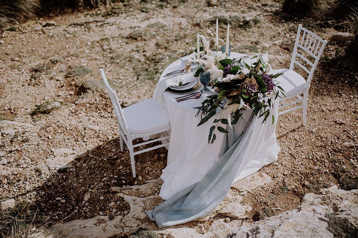 In Romantischer Zweisamkeit Heiraten Hochzeit Auf Rugen