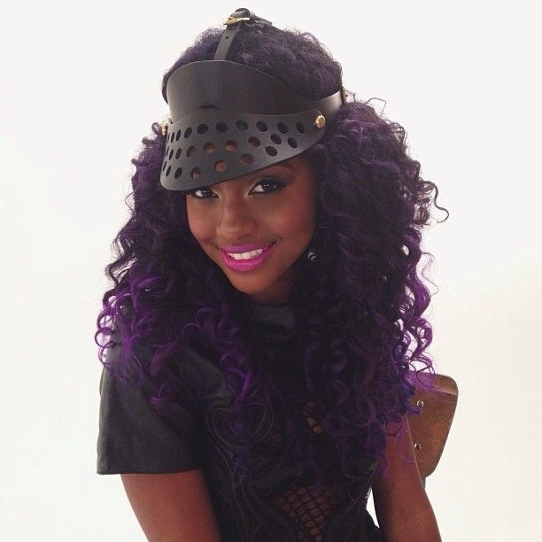 Purple Hair On Black Women DONE TASTEFULLY  Page 2  Hair La La Love  Pint