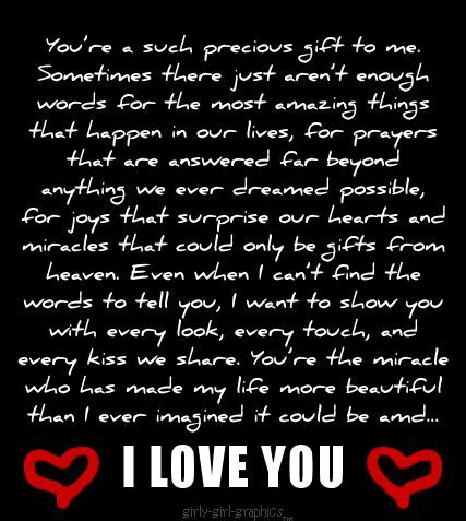 I Love You You Are Such A Precious Gift To Me We Dont Know Where This Is Going But Please Know You Have Changed Love Yourself Quotes Quotes Romantic Quotes