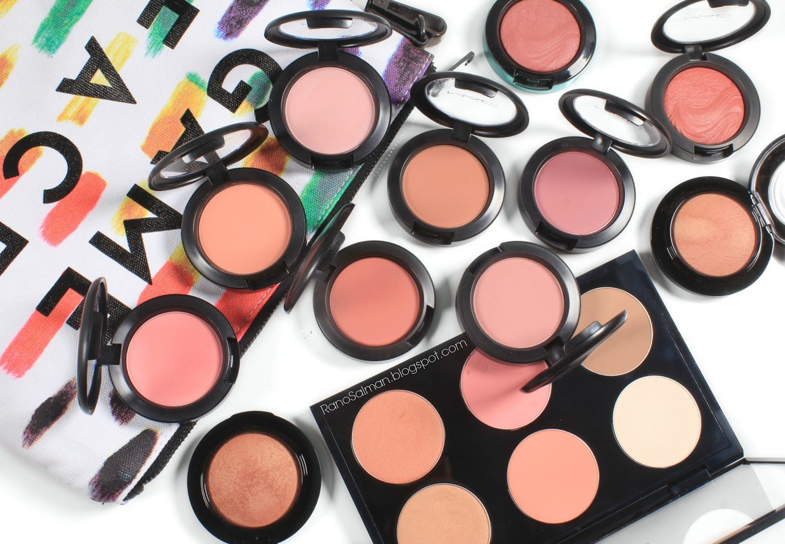 Mac Blushes Collection بلاشرات ماك Mac Blush Beauty Eyeshadow