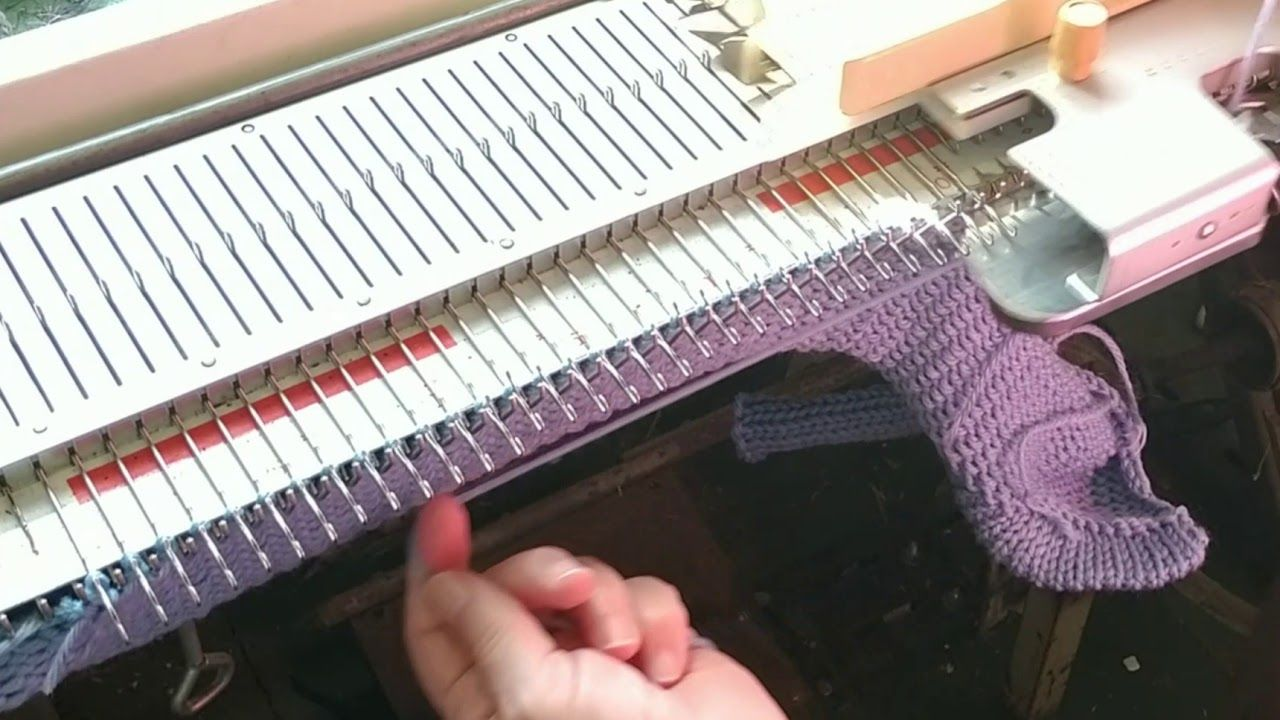 One Piece Garments Single Bed Knitting Knitting Machine Knitting Knitting Books