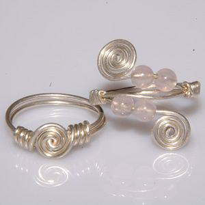 Have made a few of this style. By far, wire wrapped rings are MY ...
