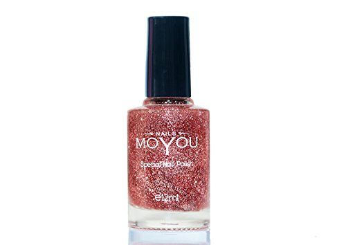 MoYou Nails Original Glitter Top Coat Used to Create Beautiful Nail Art Designs Sourced Directly from the Manufacturer MoYou Nails http://www.amazon.com/dp/B0118NWFUU/ref=cm_sw_r_pi_dp_wx-uwb1SMRBNM