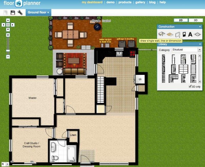 Floorplanner create a free floor plan of your home