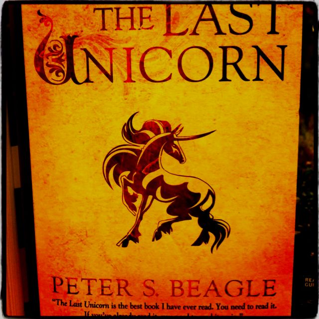 The Last Unicorn By Peter S Beagle Such A Wonderful Story And