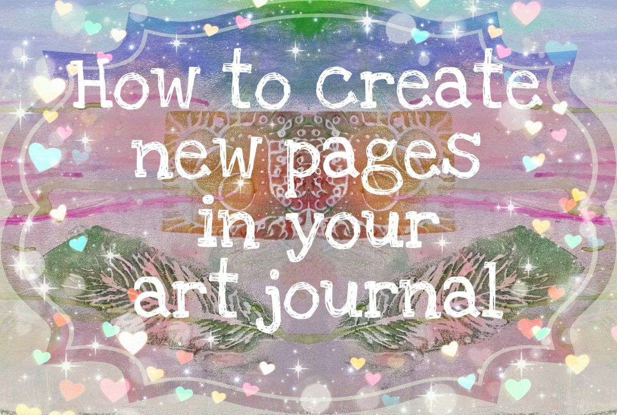 When you're out of ideas and nothing seem to come together, it's important to remember there are simple yet efficient ways to create new art pages in your journal. Sometimes you might f…