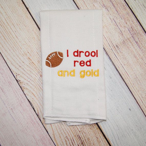 Product information i drool red and gold burp cloth this would kansas city chiefs football baby burp cloth kansas city chiefs baby girl kansas city chiefs baby boy chiefs football gift for dad negle Image collections