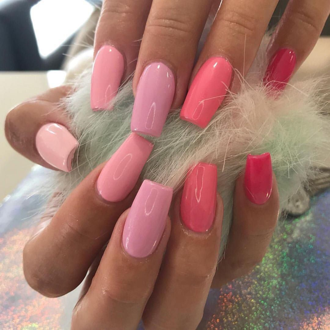 Pretty In Pink Are You Weekend Ready Repost Kayciekylesalon Nails Nailinspo Nailsofinstagram Salon Pink Acrylic Nails Pink White Nails Pink Nails