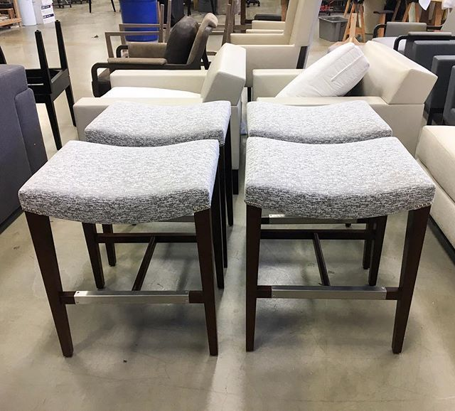 Charmant A Polished Set Of Discrete Barstools In Romo Fabric. Interior Design,  Furniture, Dining Chair, Bar Chair, Barstool, Kitchen Decor, Eat In  Kitchen, ...