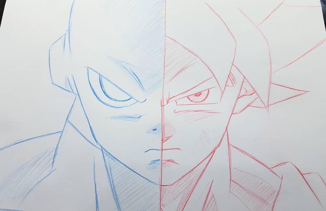 Desenho Para Colorir Dragon Ball Jiren
