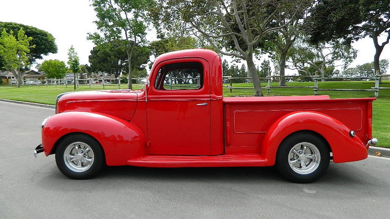 1940 Ford Pickup For Sale Near Orange California 92867 Classics