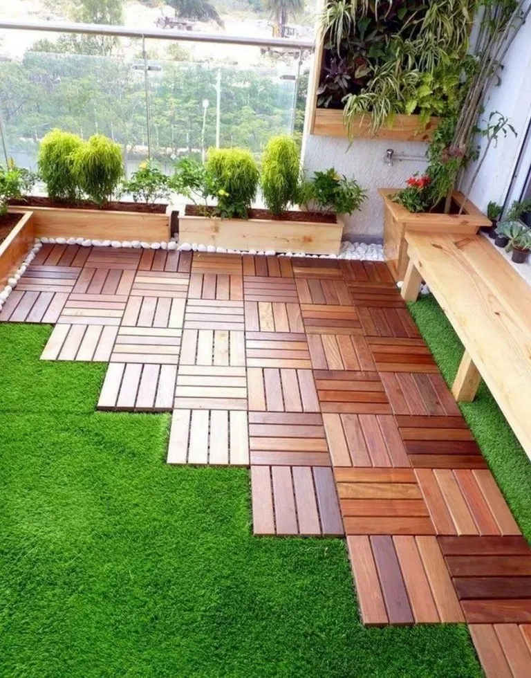 21 Chic Small Courtyard Garden Design Ideas