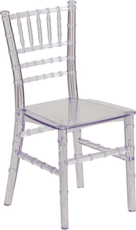 Awesome Kids Crystal Transparent Chiavari Chair Home Goods Customarchery Wood Chair Design Ideas Customarcherynet