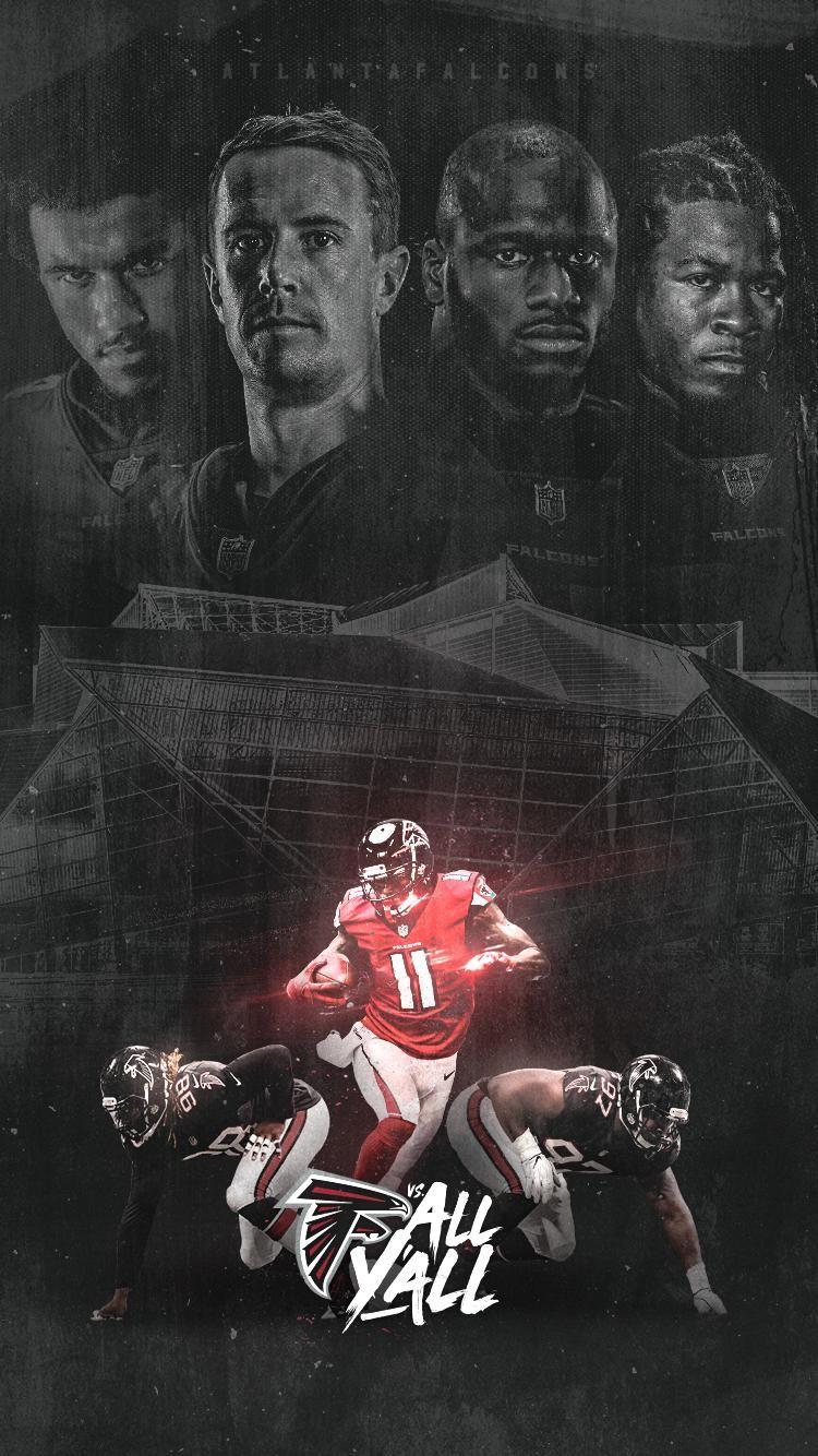 Atlanta Falcons On Atlanta Falcons Falcons Atlanta Falcons Team
