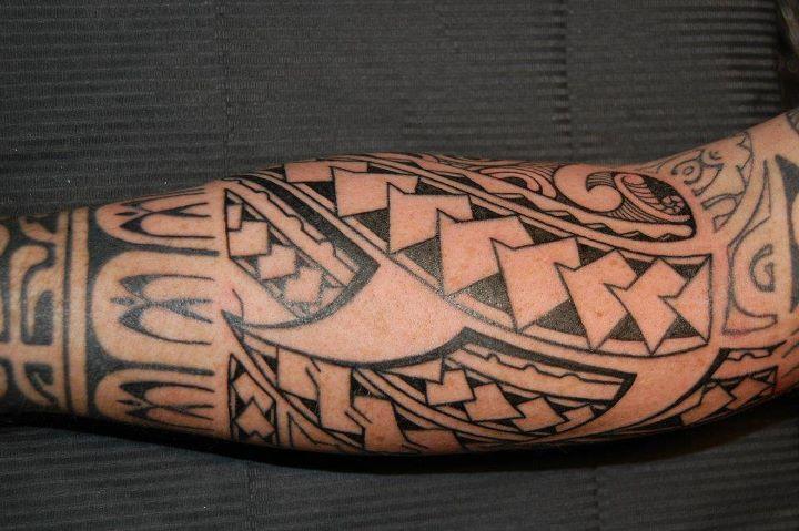 Tatouage Maori Avant Bras 3dliveproject