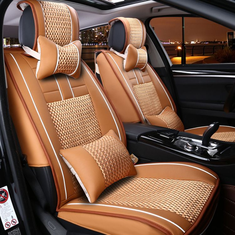 New Automotive Car Seat Covers Pu Cushion Set Leather For ROVER 75 MG TF 3