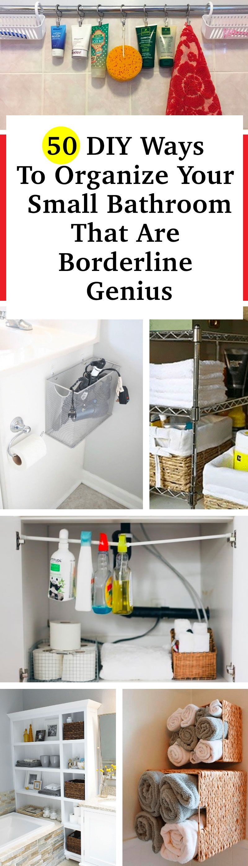 Photo of If Your Bathroom Ever Feels Cluttered, Try One Of These 40+ Nifty Ideas To Create More Space
