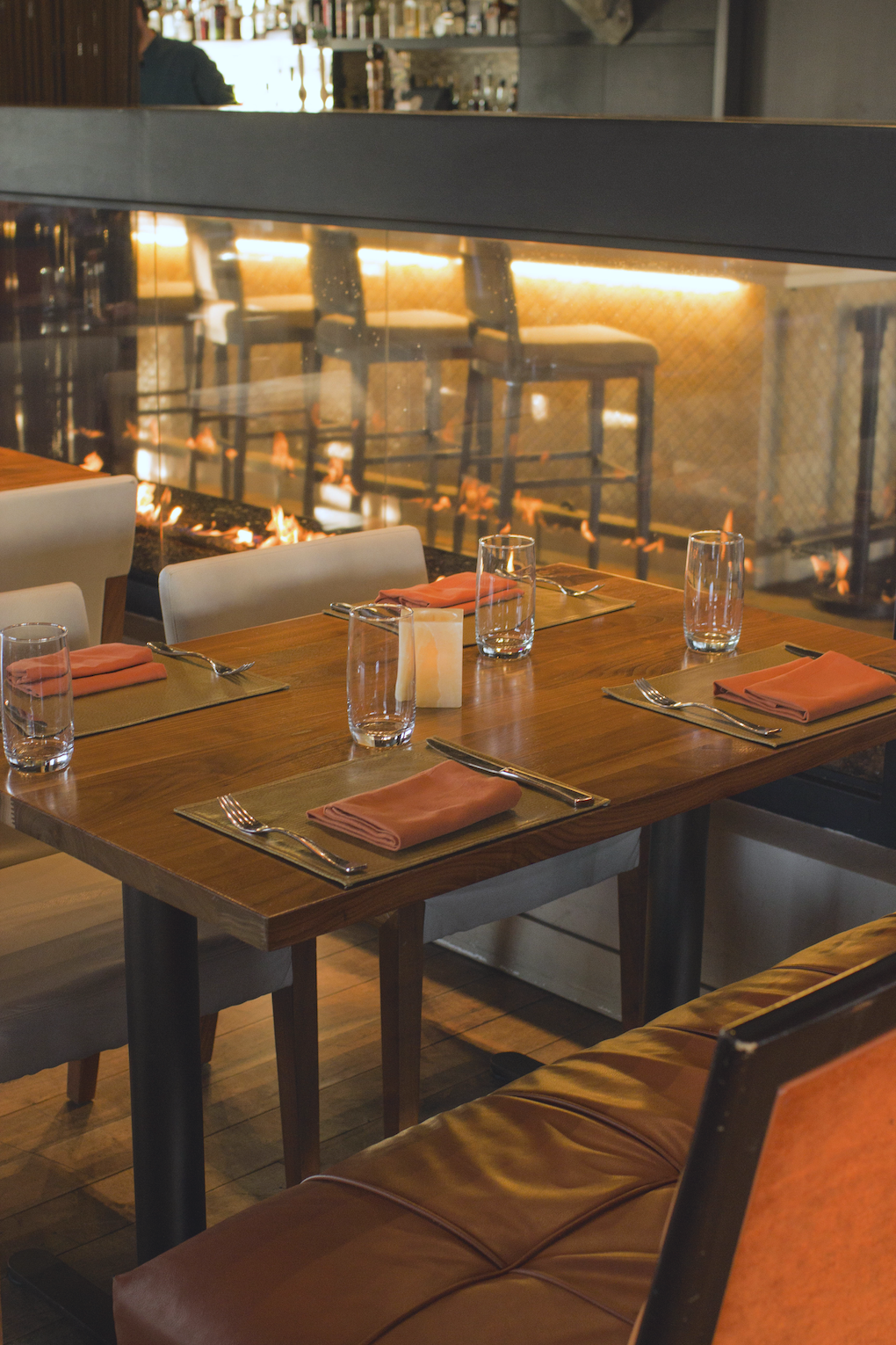 Looking for a little ambiance? Try FLINT. It's the perfect place for a date night or GNO.