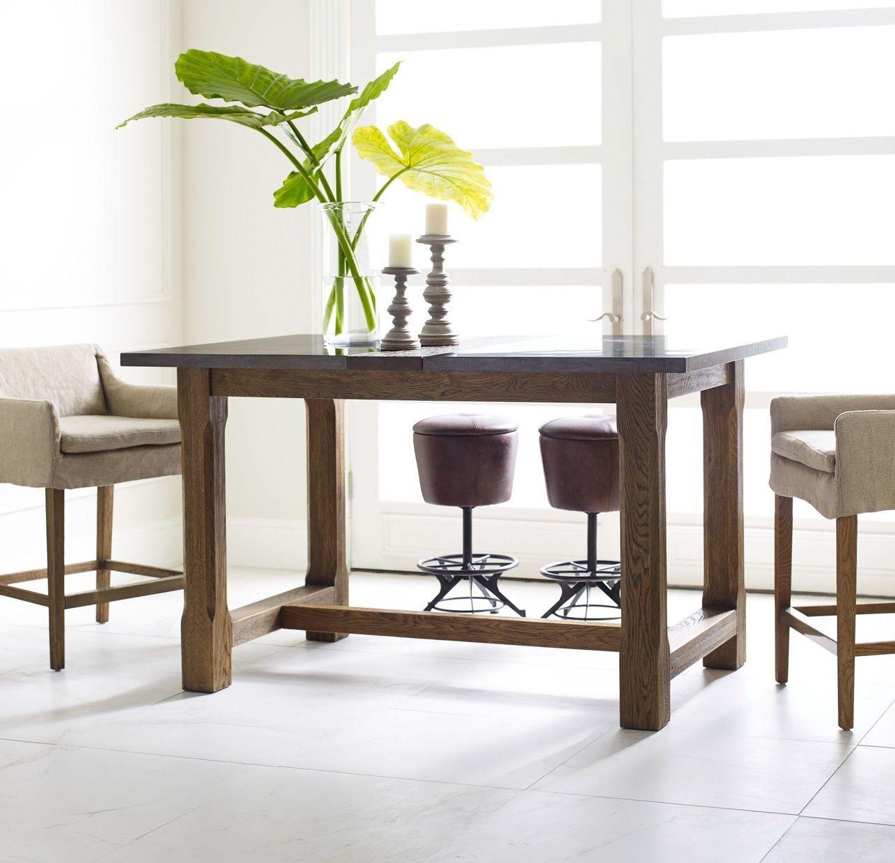 Bluestone wood foundry farmhouse counter pub table