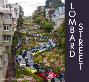 Lombard Street The Crookedest In San Francisco And World