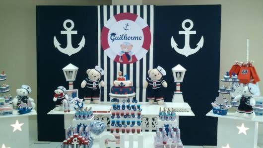 Festa ursinho marinheiro infantil como fazer christian pre o tema ursinho marinheiro para festa infantil de menino at cinco anos pode ser a soluo thecheapjerseys Gallery